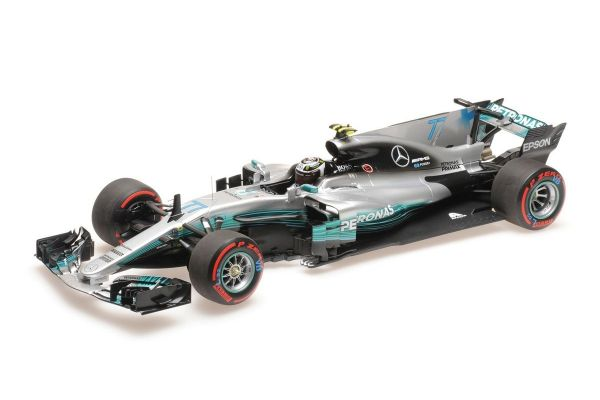 MINICHAMPS 1/18scale MERCEDES AMG PETRONAS FORMULA ONE TEAM F1 W08 EQ POWER+ – VALTTERI BOTTAS – 2nd MEXICAN GP 2017  [No.110171877]