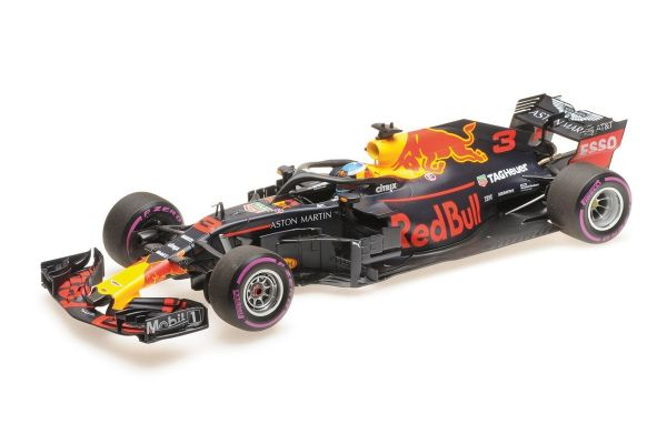 MINICHAMPS 1/18scale ASTON MARTIN RED BULL RACING TAG-HEUER RB14 – DANIEL RICCIARDO – WINNER MONACO GP 2018  [No.110180603]