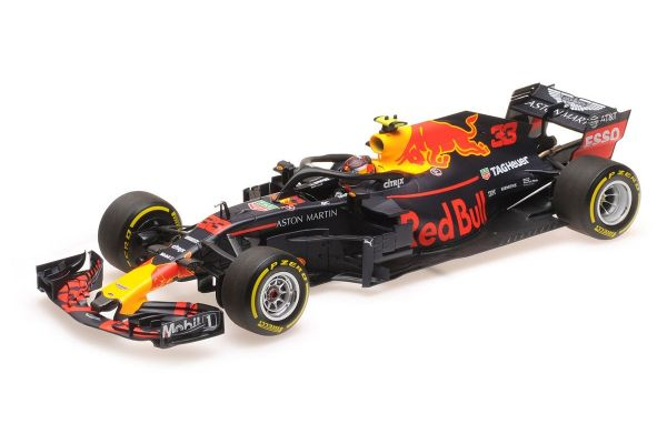 MINICHAMPS 1/18scale ASTON MARTIN RED BULL RACING TAG-HEUER RB14 – MAX VERSTAPPEN – 2018  [No.110180933]