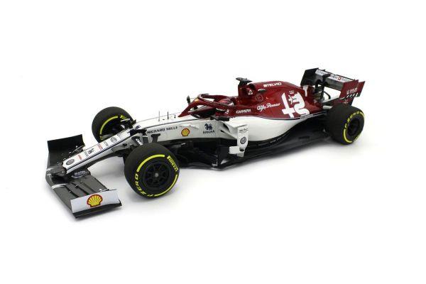 MINICHAMPS 1/18scale ALFA ROMEO RACING F1 C38 -KIMI RÄIKKÖNEN  – 2019  [No.110190007]