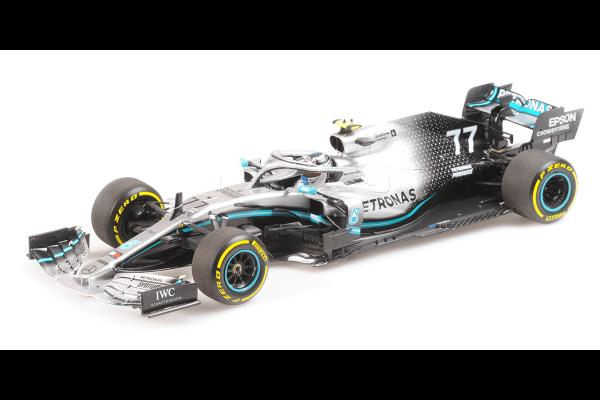 MINICHAMPS 1/18scale MERCEDES AMG PETRONAS FORMULA ONE TEAM F1 W10 EQ POWER+ - VALTTERI BOTTAS -2019  [No.110190077]