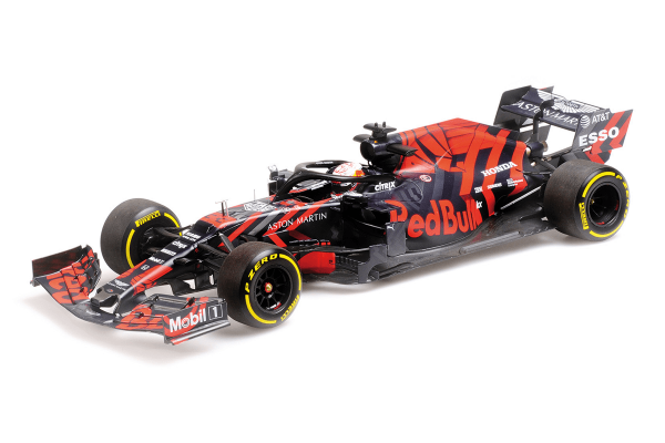 MINICHAMPS 1/18scale Aston Martin Red Bull Racing Honda RB15 Max Verstappen Silverstone Shakedown Specification Coloring February 13, 2019  [No.110199933]