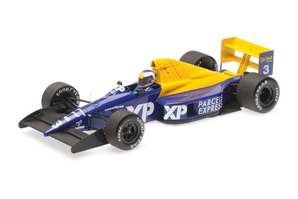 MINICHAMPS 1/18scale TYRRELL FORD 018 – JONATHAN PALMER – FRENCH GP 1989  [No.110890003]
