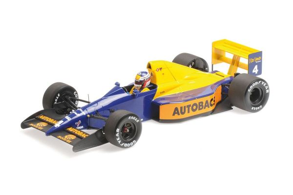 MINICHAMPS 1/18scale TYRRELL FORD 018 – JEAN ALESI – JAPANESE GP 1989  [No.110891504]