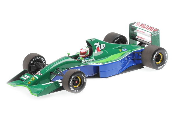MINICHAMPS 1/18scale Jordan F191 Cesaris Canadian GP 1991 4th  [No.110910033]