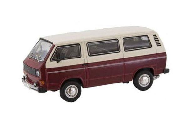 Premium ClassiXXs 1/43scale VW T3-a BUS L RED/WHITE [No.PCS11457]