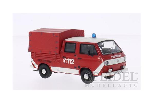 Premium ClassiXXs 1/43scale VW T3-a extended cab canvas Feuerwehr 消防隊 [No.PCS11529]