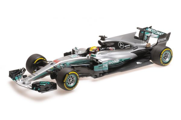 MINICHAMPS 1/18scale MERCEDES AMG PETRONAS FORMULA ONE TEAM F1 W08 EQ POWER+ – LEWIS HAMILTON – WINNER CHINESE GP 2017  [No.117170244]