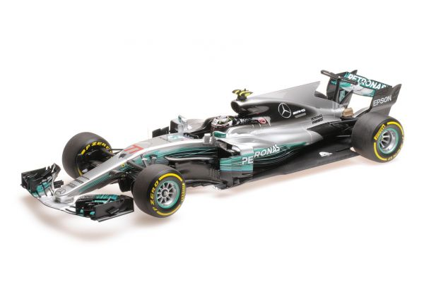 MINICHAMPS 1/18scale MERCEDES AMG PETRONAS FORMULA ONE TEAM F1 W08 EQ POWER+ – VALTTERI BOTTAS – CHINESE GP 2017  [No.117170277]
