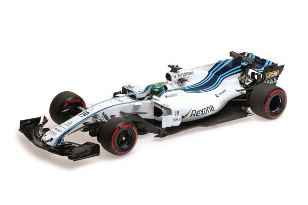 MINICHAMPS 1/18scale WILLIAMS MARTINI RACING MERCEDES FW40 – FELIPE MASSA – LAST GP – ABU DHABI GP 2017  [No.117172019]