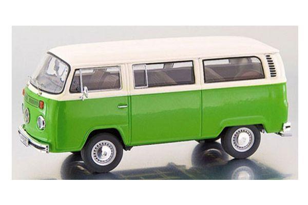 Premium ClassiXXs 1/43scale VOLKSWAGEN T2-b BUS L GREEN / WHITE [No.PCS11753]