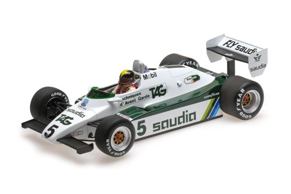MINICHAMPS 1/18scale WILLIAMS FORD FW08 – DEREK DALY – 1982  [No.117820005]
