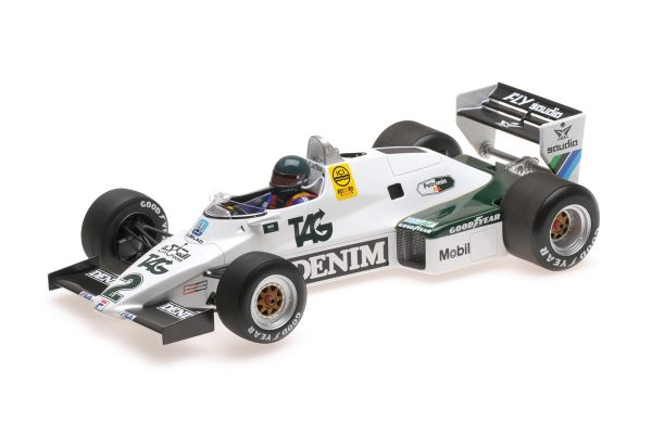 MINICHAMPS 1/18scale WILLIAMS FORD FW08C – JACQUES LAFFITE – 1983  [No.117830002]