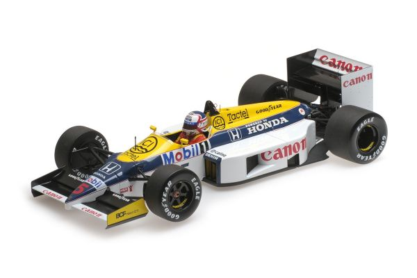 MINICHAMPS 1/18scale WILLIAMS HONDA FW11 – NIGEL MANSELL – 1986  [No.117860005]