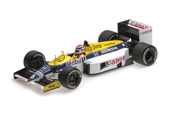 MINICHAMPS 1/18scale WILLIAMS HONDA FW11 – NELSON PIQUET – 1986  [No.117860006]