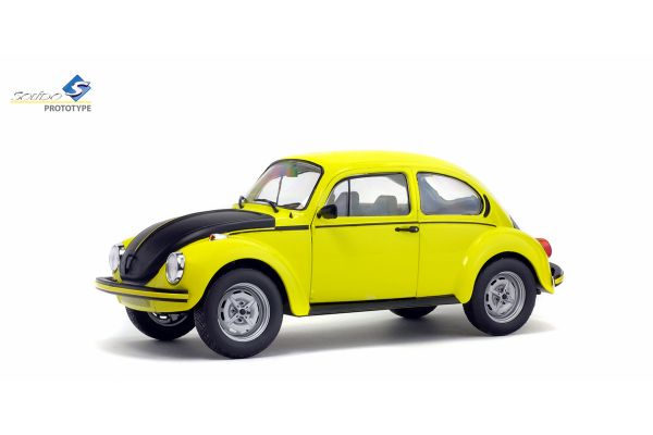 SOLIDO 1/18scale Volkswagen Beetle GSR 1973 Yellow [No.S1800502]