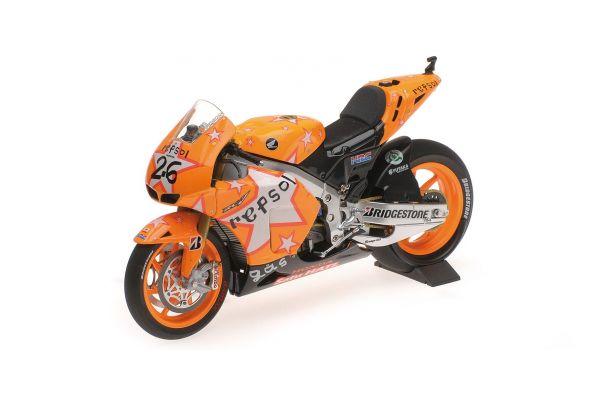 MINICHAMPS 1/12scale HONDA RC212V – REPSOL HONDA TEAM – DANI PEDROSA – ARAGON GP MOTOGP 2011  [No.122111226]