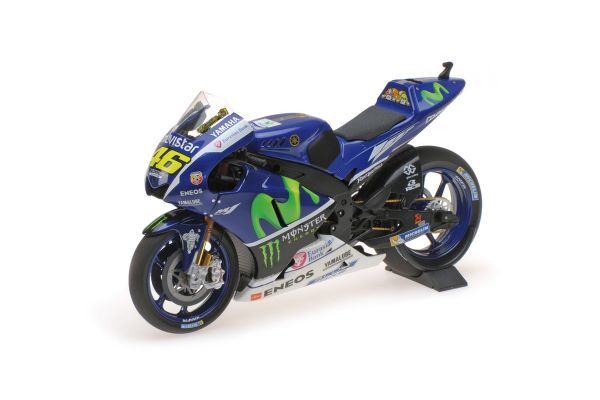 MINICHAMPS 1/12scale YAMAHA YZR-M1 – MOVISTAR YAMAHA MOTOGP – VALENTINO ROSSI – TEST BIKE 2016  [No.122163246]