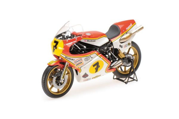 MINICHAMPS 1/12scale SUZUKI RG 500 – BARRY SHEENE – WORLD CHAMPION GP 500 1977  [No.122770007]