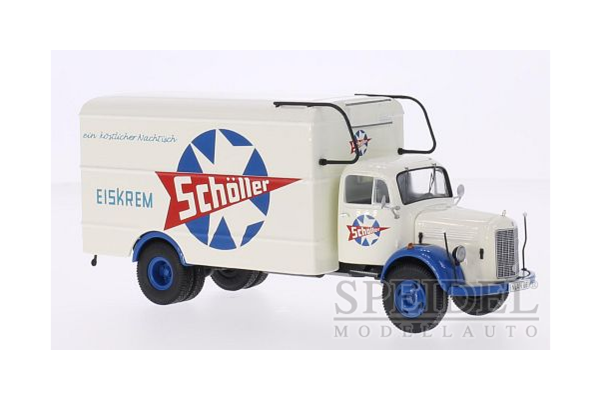 Premium ClassiXXs 1/43scale メルセデス L 3500 `Scholler アイスクリーム` 1954 White [No.PCS12403]