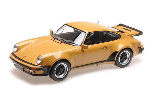 MINICHAMPS 1/12scale PORSCHE 911 TURBO – 1977 – TAN  [No.125066113]