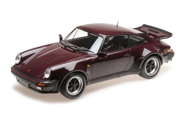 MINICHAMPS 1/12scale PORSCHE 911 TURBO – 1977 – PURPLE  [No.125066116]