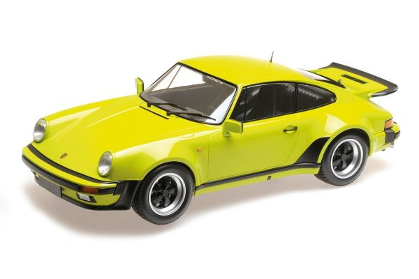 MINICHAMPS 1/12scale PORSCHE 911 TURBO – 1977 – LIGHT GREEN  [No.125066119]
