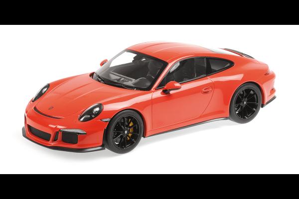 MINICHAMPS 1/12scale Porsche 911 R (2016) Mule Orange  [No.125066324]