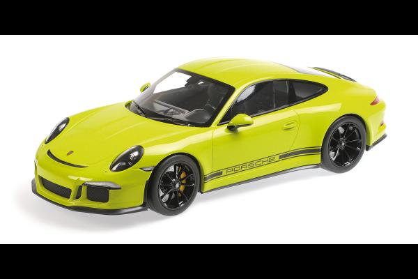 MINICHAMPS 1/12scale Porsche 911 R (2016) Light Green  [No.125066326]