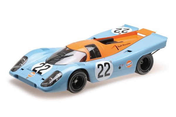 MINICHAMPS 1/12scale PORSCHE 917K – J.W. ENGINEERING – HAILWOOD/HOBBS – LE MANS 24 HOURS 1970  [No.125706622]