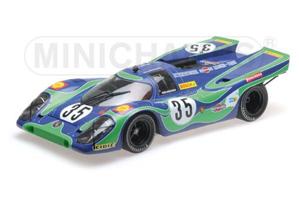 MINICHAMPS 1/12scale PORSCHE 917K – INTERNATIONAL MARTINI & ROSSI RACING – VAN LENNEP/LARROUSSE – WATKINS GLEN 6H 1970  [No.125706635]