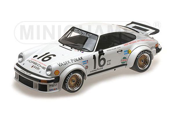 MINICHAMPS 1/12scale PORSCHE 934 – VASEK POLAK RACING – GEORGE FOLLMER – 1976 TRANS-AM CHAMPION  [No.125766416]