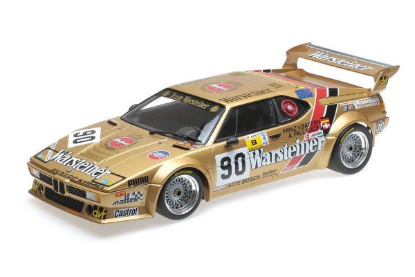 MINICHAMPS 1/12scale BMW M1 GR.B – PALLAVICINI/WINTHER/VON BAYERN – 24H LE MANS 1983  [No.125832990]