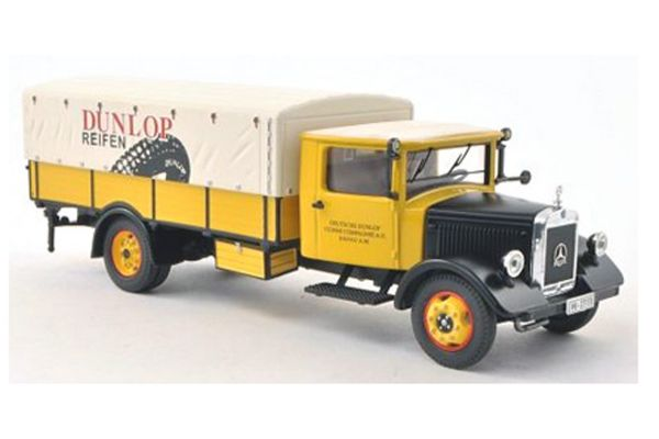 Premium ClassiXXs 1/43scale Mercedes Benz Lo 2750 pickup canvas track