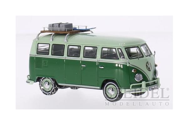 Premium ClassiXXs 1/43scale VW T1 Mindersamba 15 GREEN [No.PCS13861]