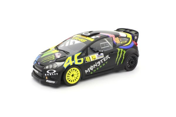 MINICHAMPS 1/18scale FORD FIESTA RS WRC – ROSSI/CASSINA – 2ND PLACE MONZA RALLY SHOW 2013  [No.151130846]