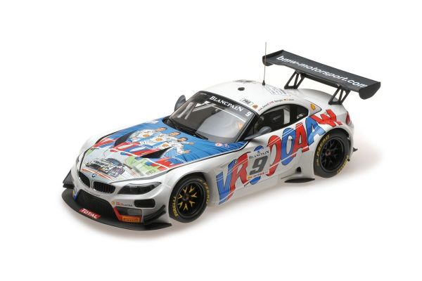 MINICHAMPS 1/18scale BMW Z4 GT3 (E89) – ROAL MOTORSPORT – ZANARDI/SPENGLER/GLOCK – 24H SPA 2015  [No.151152309]