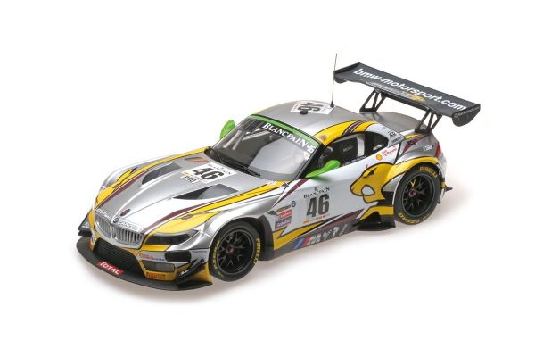 MINICHAMPS 1/18scale BMW Z4 GT3 (E89) – BMW SPORTS TROPHY TEAM MARC VDS – PALTALLA/LUHR/CATSBURG – WINNERS 24H SPA 2015  [No.151152346]