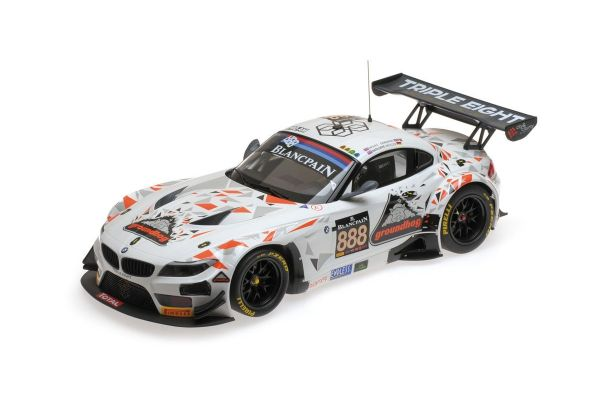 MINICHAMPS 1/18scale BMW Z4 GT3 (E89) – TRIPLE EIGHT RACING – MOWLE/RATCLIFFE/OSBORNE/MÜLLER – 24H SPA 2015  [No.151152388]