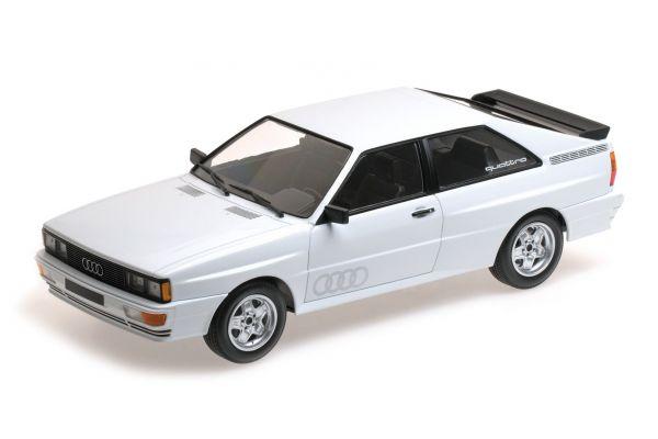 MINICHAMPS 1/18scale AUDI QUATTRO – 1980 – WHITE  [No.155016120]