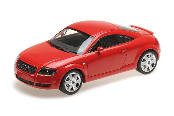 MINICHAMPS 1/18scale AUDI TT COUPE - 1998 - RED  [No.155017022]