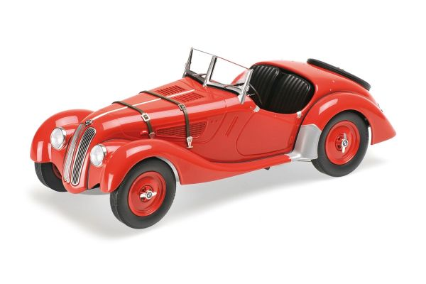 MINICHAMPS 1/18scale BMW 328 – 1936 – RED  [No.155025031]