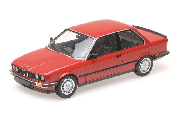 MINICHAMPS 1/18scale BMW 323I – 1982 – RED  [No.155026000]