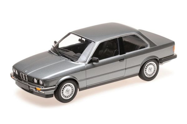MINICHAMPS 1/18scale BMW 323I (E30) - 1982 - GREY METALLIC  [No.155026006]