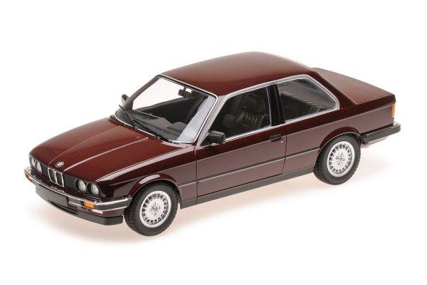 MINICHAMPS 1/18scale BMW 323I (E30) – 1982 – RED METALLIC  [No.155026007]