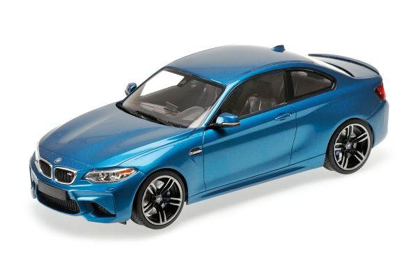 MINICHAMPS 1/18scale BMW M2 COUPÉ – 2016 – BLUE METALLIC  [No.155026101]