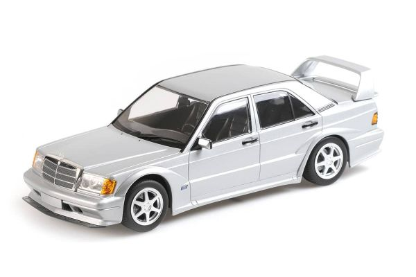 MINICHAMPS 1/18scale Mercedes Benz 190E 2.5-16 EVO 2 Silver  [No.155036101]
