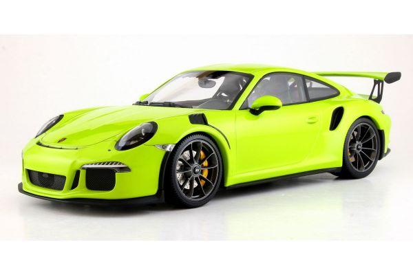 MINICHAMPS 1/18scale PORSCHE 911 GT3 RS (991) – 2015 – LICHTGRÜN  [No.155066222]