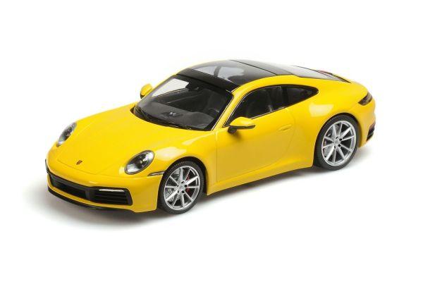 MINICHAMPS 1/18scale PORSCHE 911 CARRERA 4S – 2019 – YELLOW  [No.155067320]
