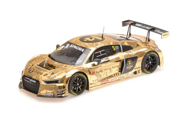 MINICHAMPS 1/18scale AUDI R8 LMS - AAPE/AUDI HONG KONG - LEE/THONG - GT ASIA 2016 OVERALL 2ND PLACE  [No.155161195]